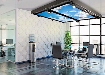 SkylightPro in a meeting corner